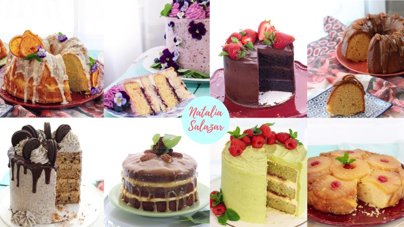 recetario tortas especiales