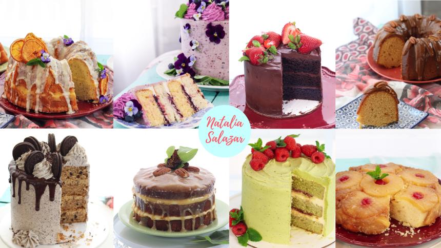 Recetario Tortas Especiales natalia salazar