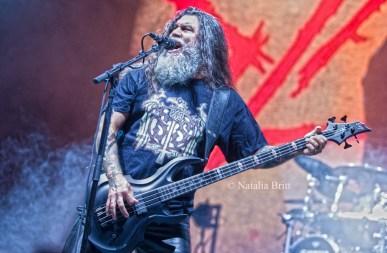 Tom Araya, Slayer, 2015