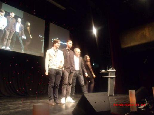 Die Klappe 2014 - die Award Show in Hamburg.