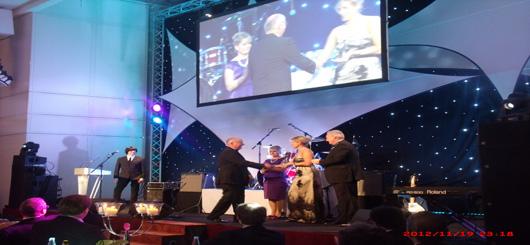 IBJ Award 2012 im Hotel Grand Elysee in Hamburg