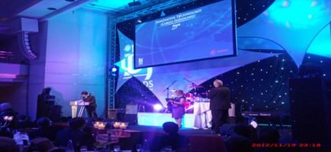 The IBJ Award 2012 in Hamburg.