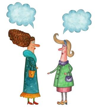comunicación, palabras, discutir