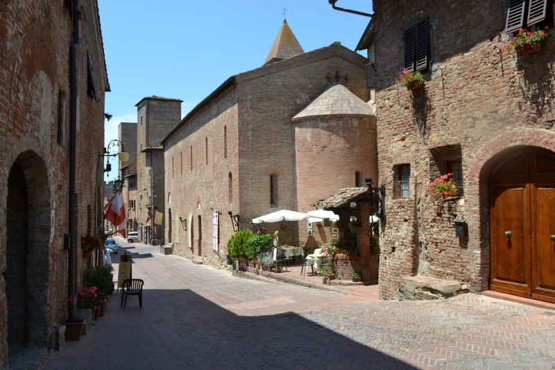 Certaldo is still a very unspoiled hilltop town