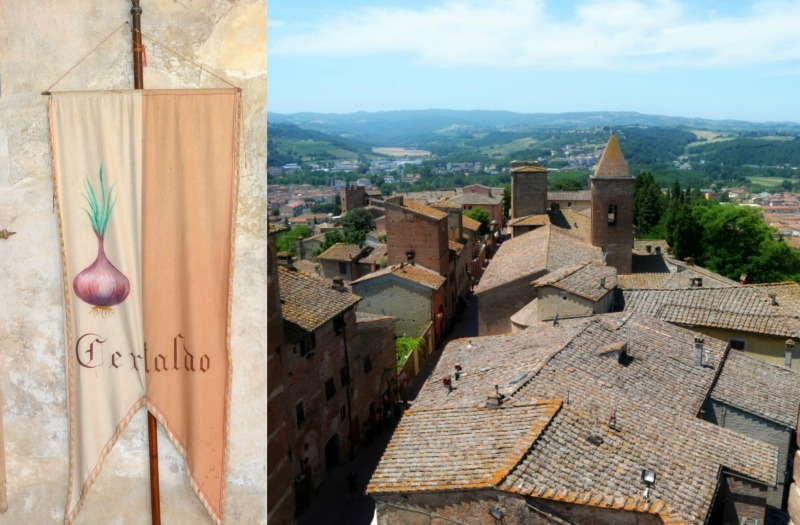 Certaldo is a lovely, small medieval town nicely positioned in the heart of Tuscany