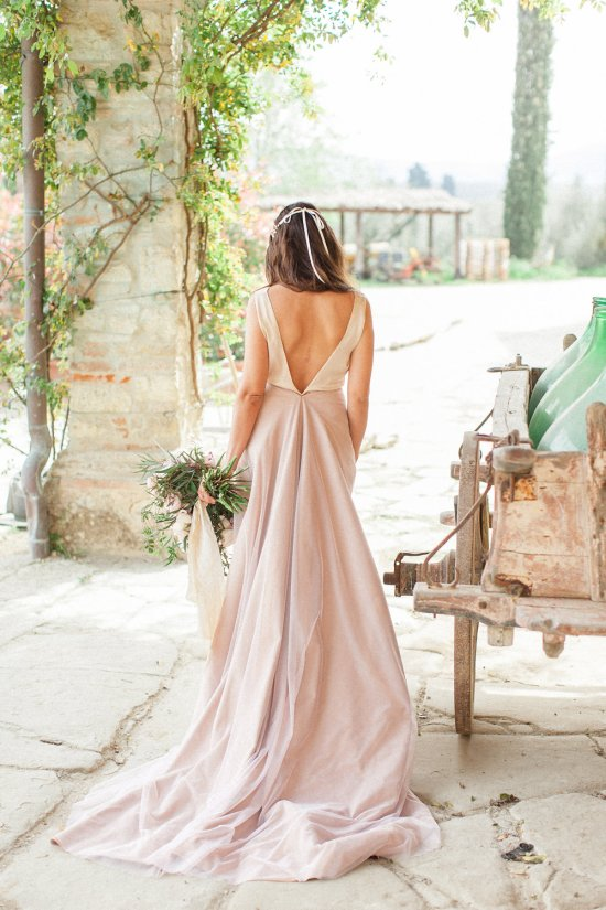Blush bespoke bridal gown by Louise Made in Italy I adore