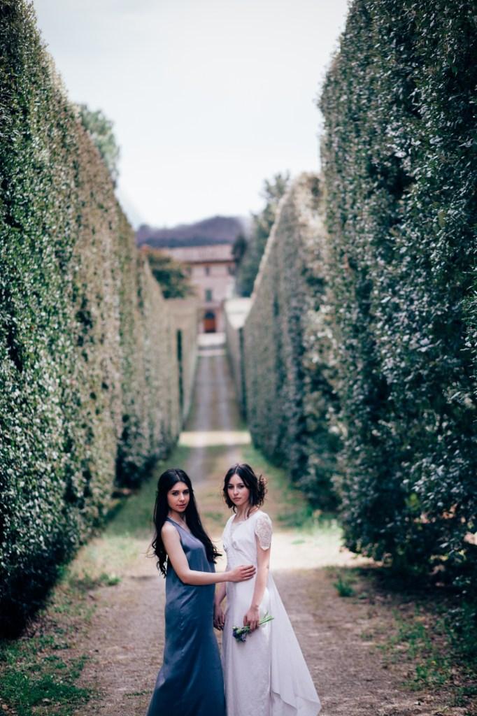 All love is equal -Romantic Italian garden wedding
