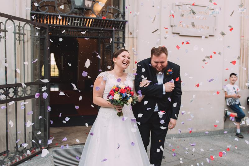Ślub na Starym Mieście w Warszawie