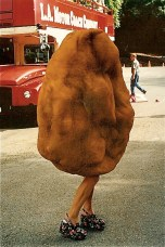 My first job in showbiz? Playing a dancing chicken nugget. It was a meaty role.