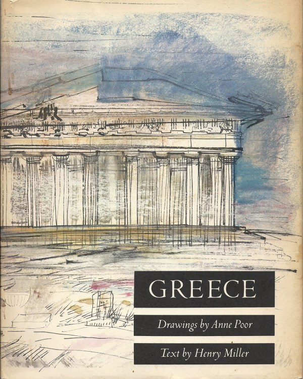 Henry Miller Timeless Greece Drawings Of