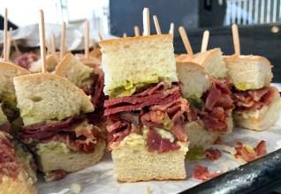 Grinders Pastrami Sandwich
