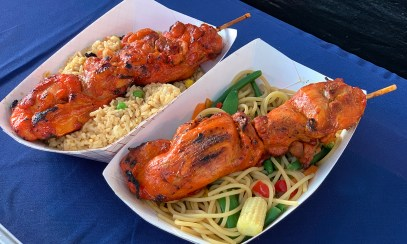 Sac County Fair Chan's Chicken On A Stick