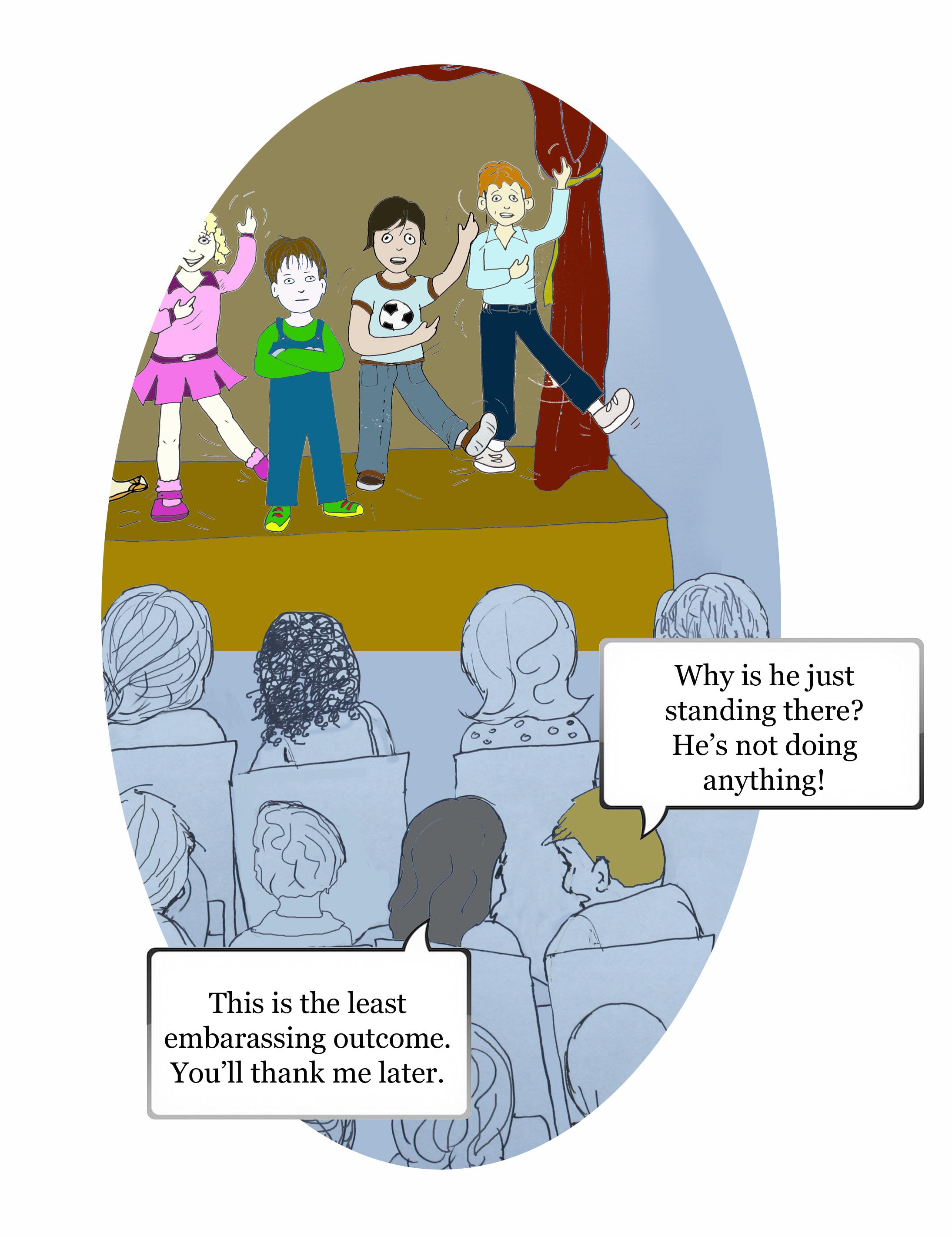 Dramatic Mom comic strip cell 8 by Natalie Buske Thomas
