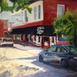 "Original Oil Paintings: ""Joe's Inn"" oil on canvas 30""x24"""
