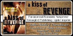 A Kiss of Revenge Blog Tour banner