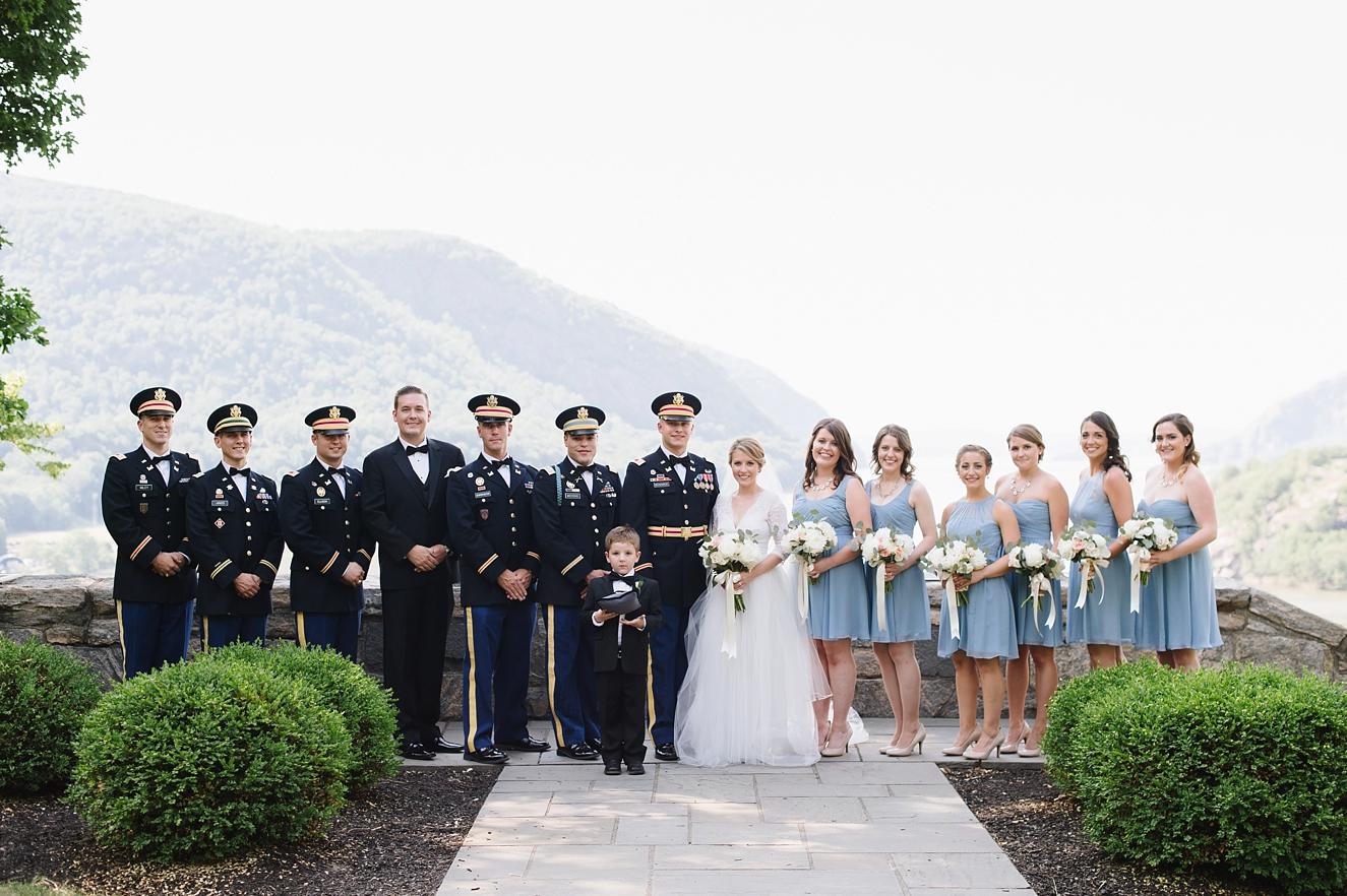 West Point Wedding  Lauren  Stan