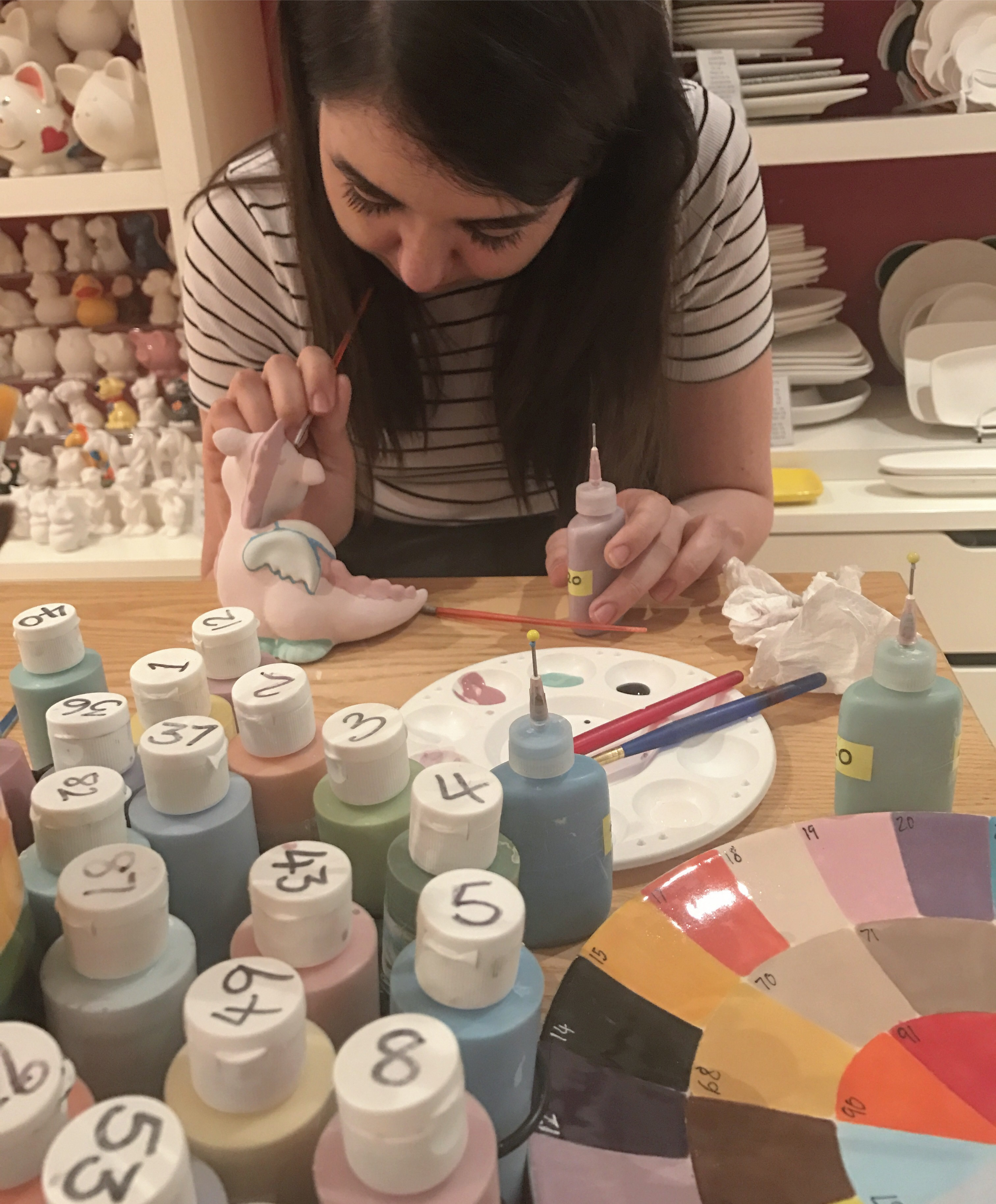 Pottery Painting in Whitley Bay