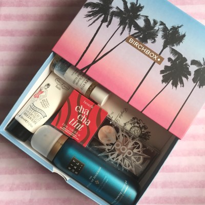 July Birchbox | Beauty and Skincare