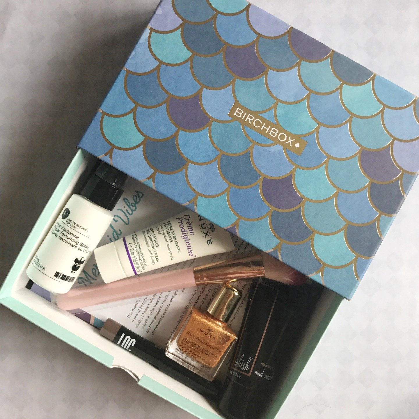 August Birchbox | Beauty and Skincare