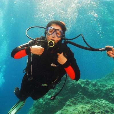 Scuba-Diving in Crete, Greece