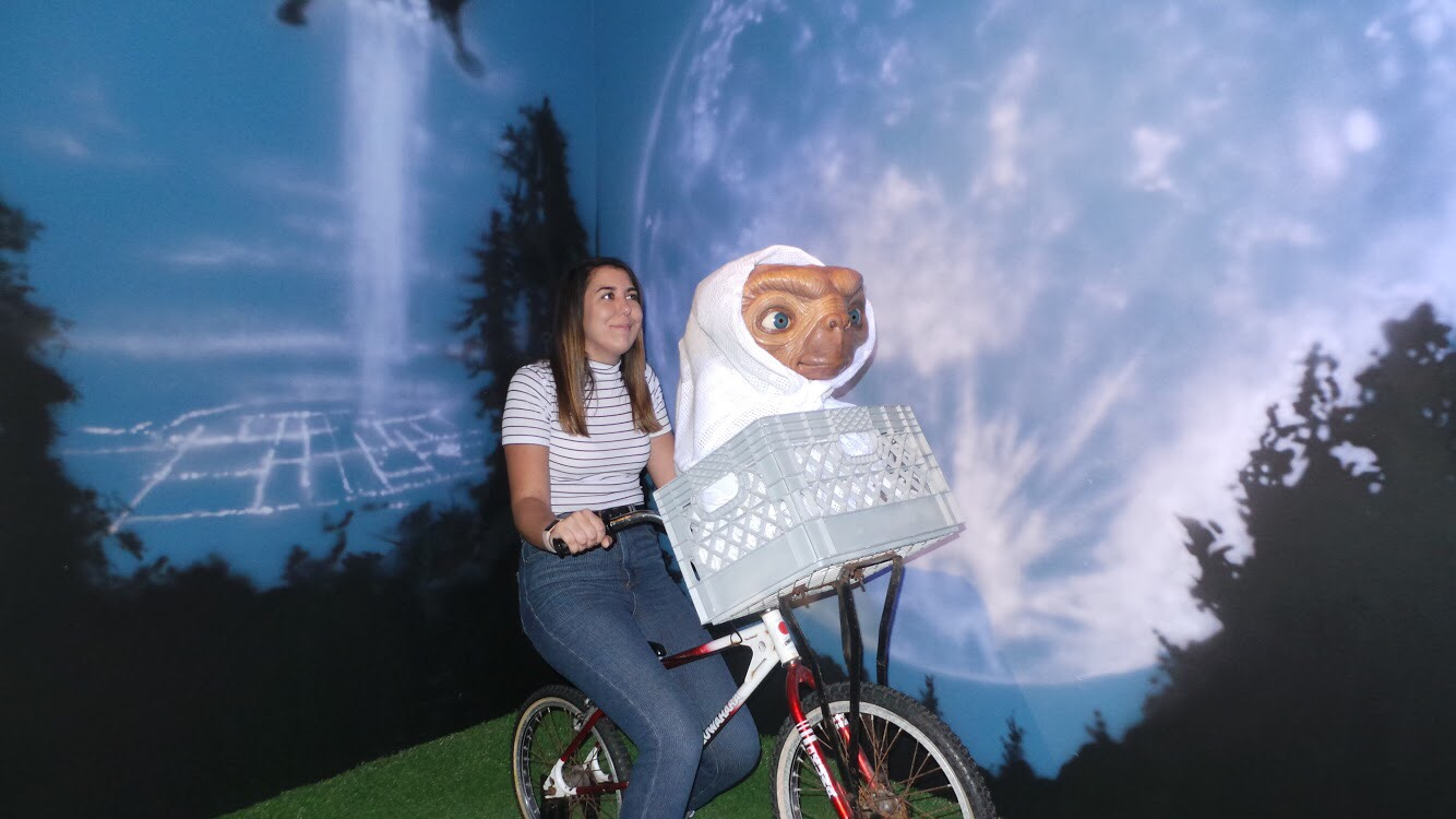 ET as Madame Tussauds Blackpool