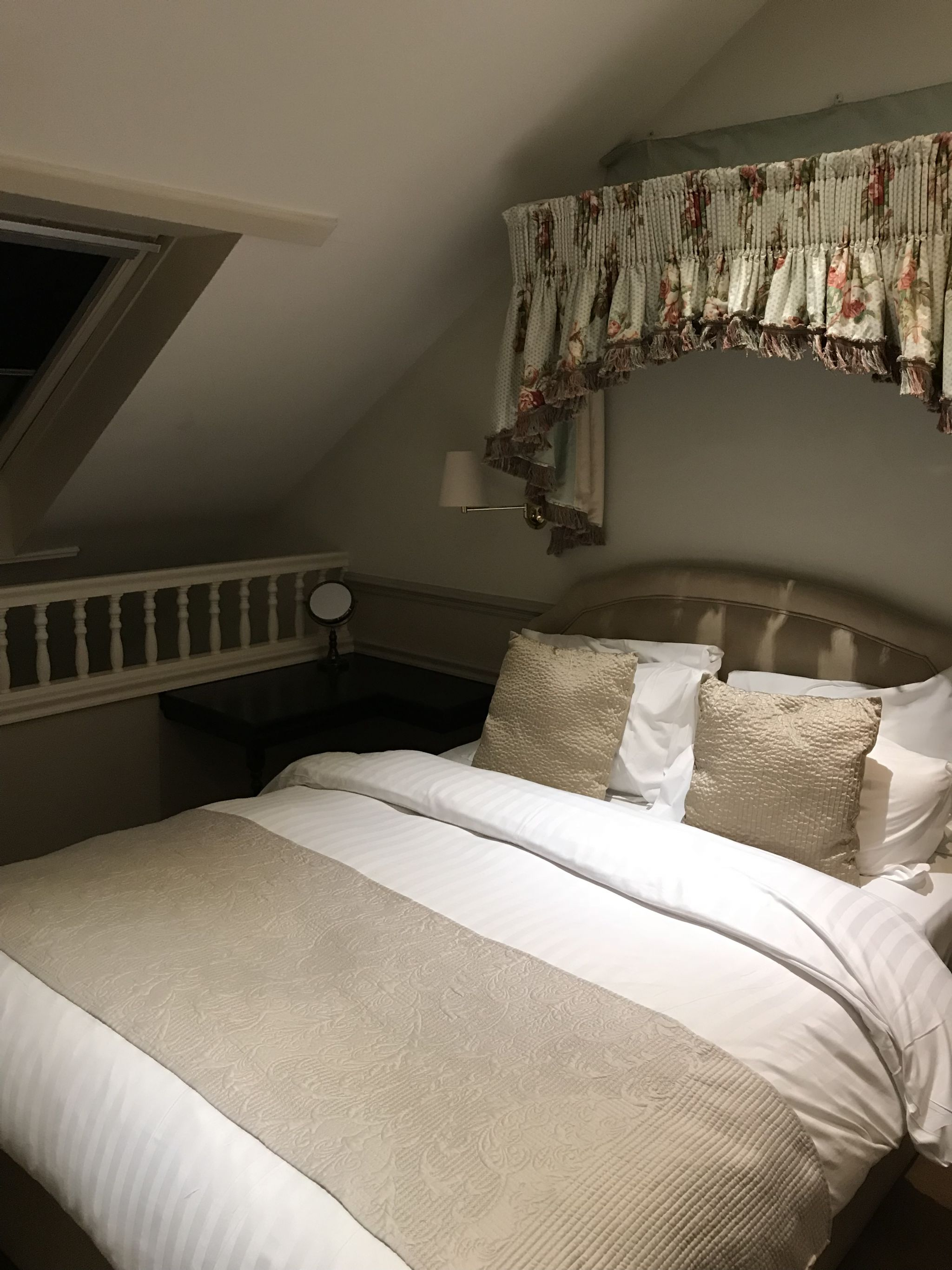 luxury bed at Holdsworth House Hotel