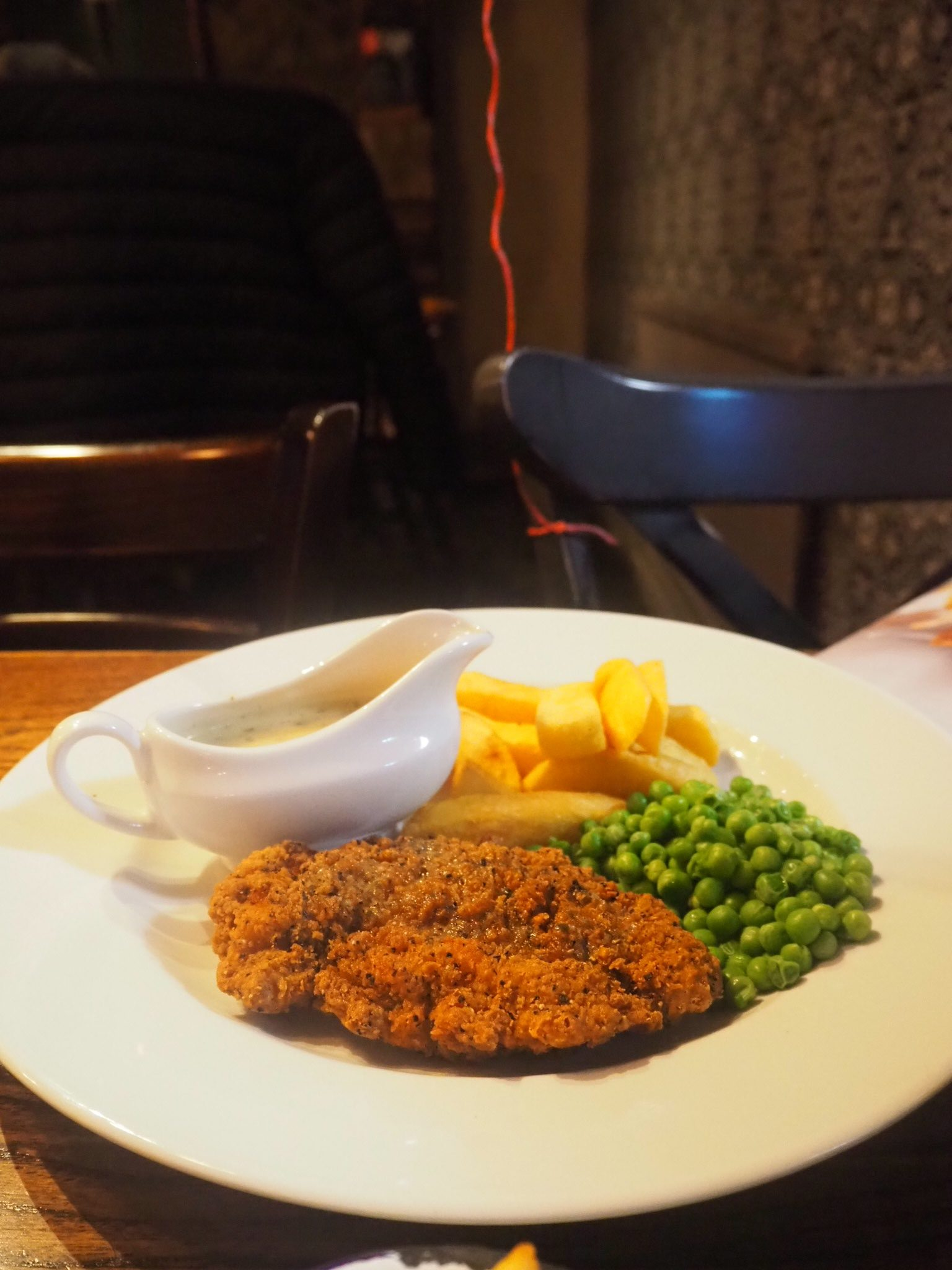 chicken kiev with a twist - my favourite from the new menu