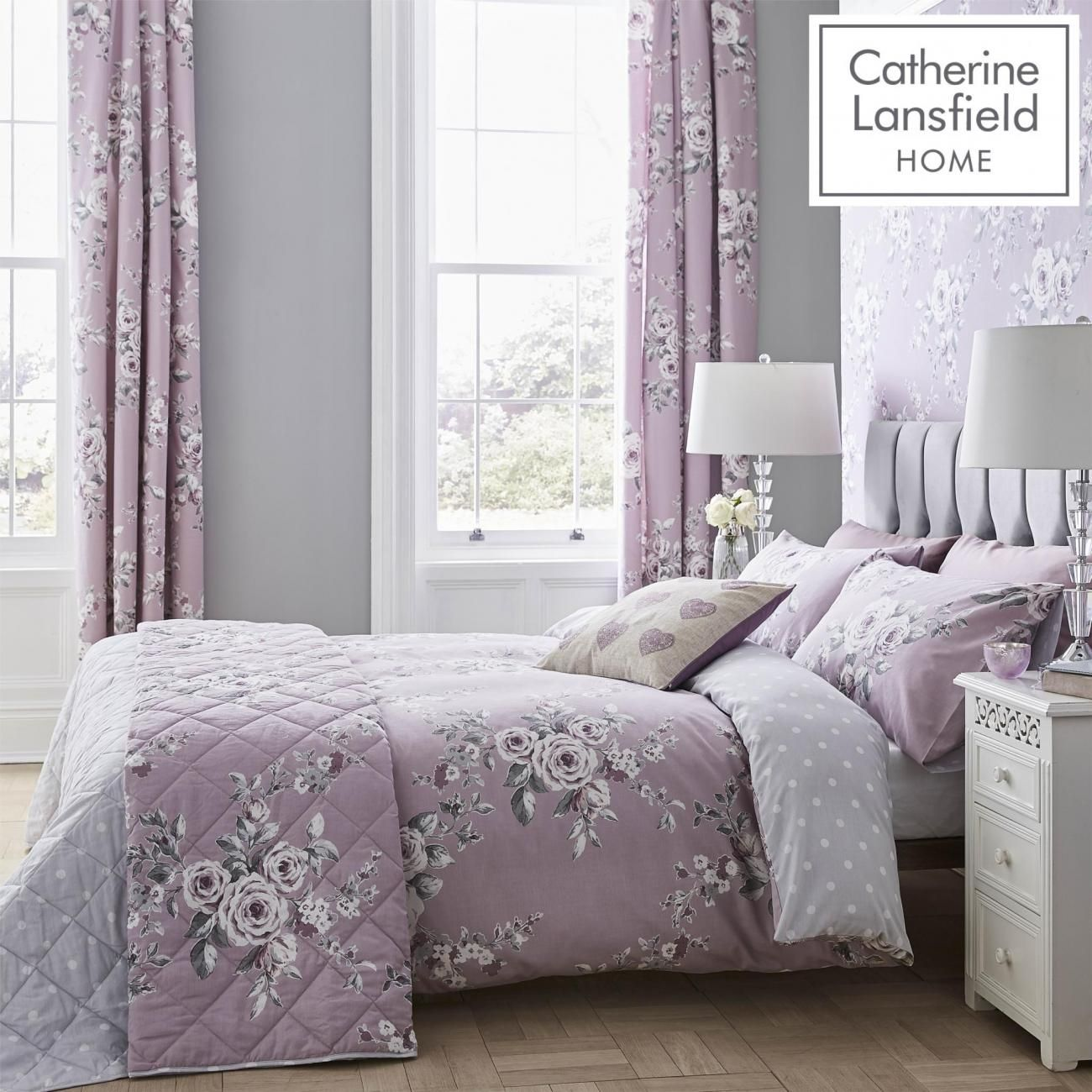 Catherine Langford Bedding Set - The Yorkshire Linen Co