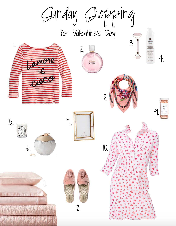 Sunday Shopping V-Day