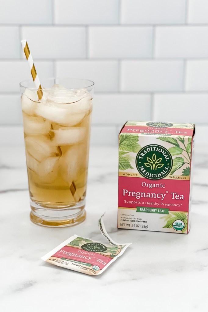 Traditional Medicinals Pregnancy Tea - Iced Raspberry Leaf Tea, Cold Brew Raspberry Leaf Tea