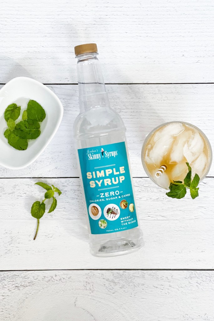 Kentucky Derby Party at Home Mint Julep Mint Skinny Simple Syrup