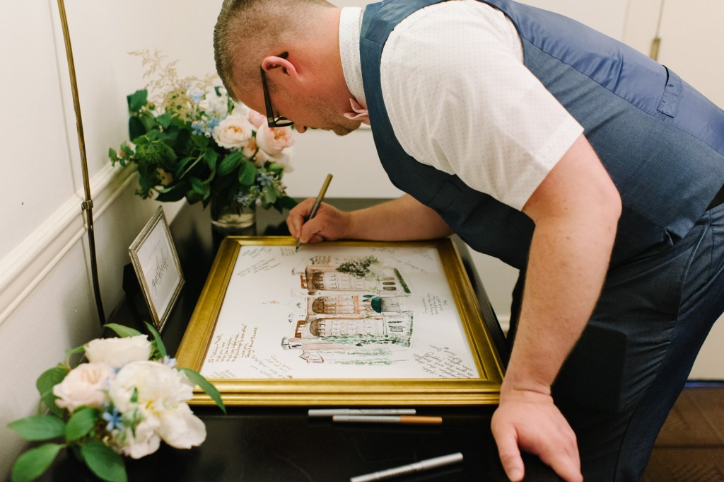 Wedding Guestbook idea -- by Blue Rose Photography