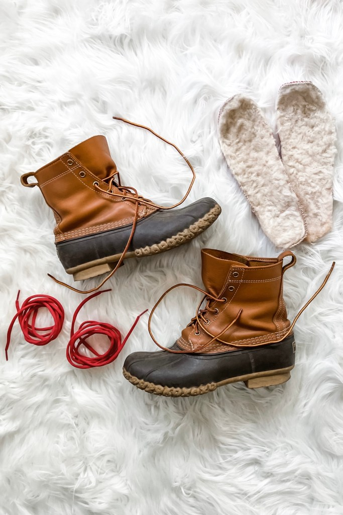 Best Shoes for Winter Weather -- L.L.Bean Duck Boots / Bean Boots