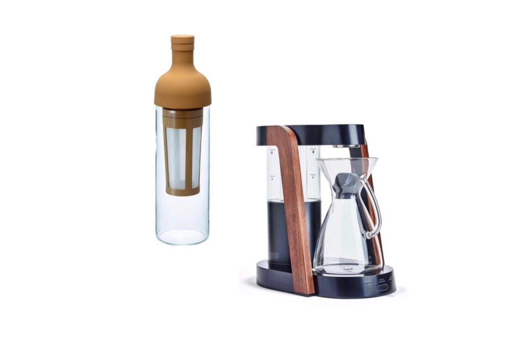 Father's Day Gift Ideas - coffee maker Ratio coffee brewer Hario Cold Brew Bottle