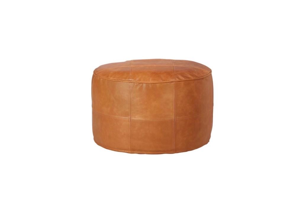 Third Wedding Anniversary Gift Ideas - Leather Ottoman Furniture