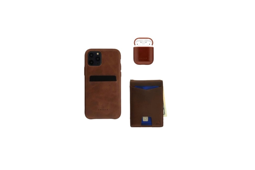 Third Wedding Anniversary Gift Ideas - Leather iPhone Case, AirPod Case Cover, Leather Wallet
