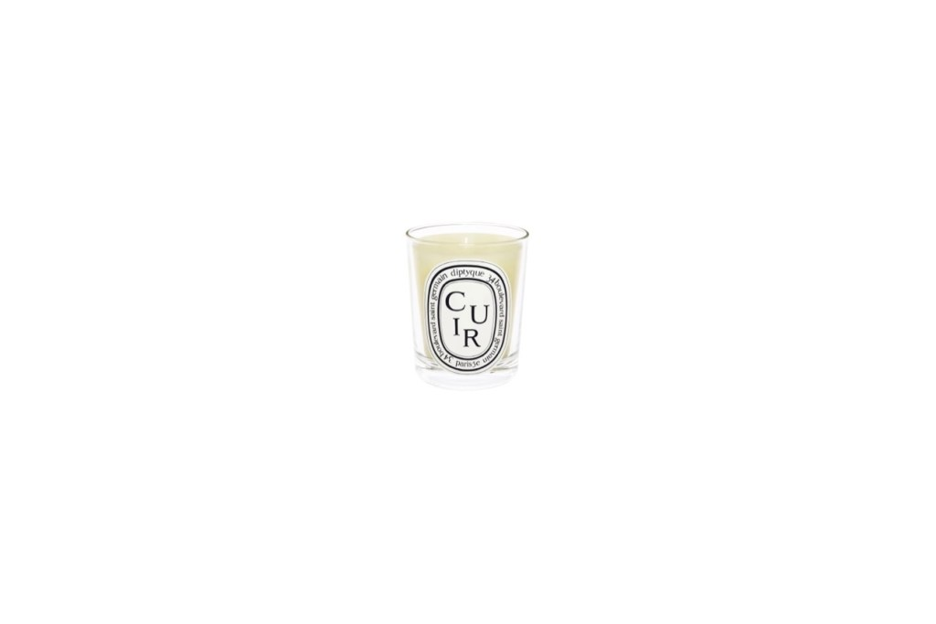 Third Wedding Anniversary Gift Ideas - Diptyque Cuir Leather Candle