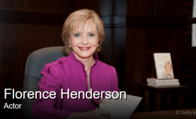 Florence Henderson Dies at 82