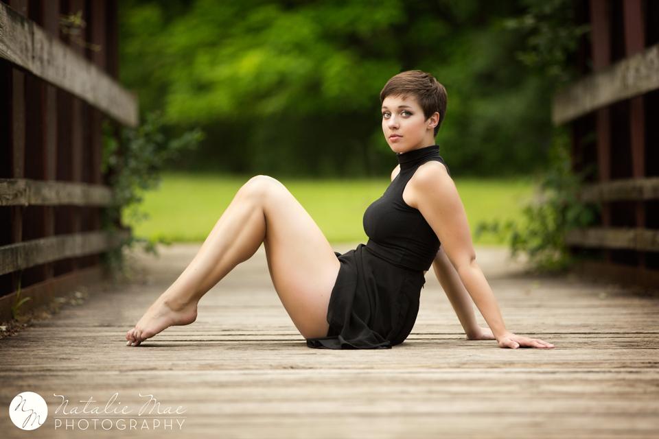 Ann Arbor dance photographer Natalie Mae captures perfectly posed dancer, Kyla.