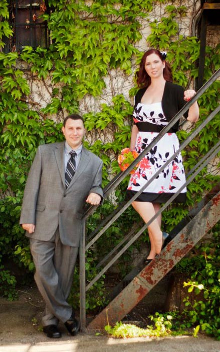 Downtown Jackson MI elopement