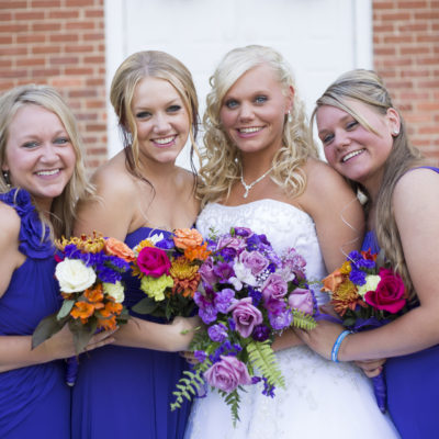 Jackson MI fall bridesmaids - Jackson, Michigan Wedding Photographer