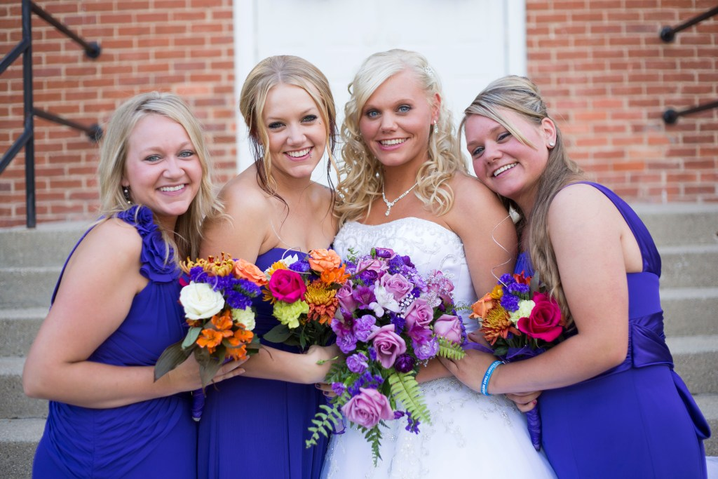 Jackson MI fall bridesmaids