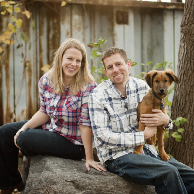 engagement photo with pet - Ann Arbor, Ypsilanti, Belleville, Chelsea, Dexter, Whoitmore Lake, Pinckney, Brighton, South Lyon, Howell, Jackson, Lansing and Detroit area photographer