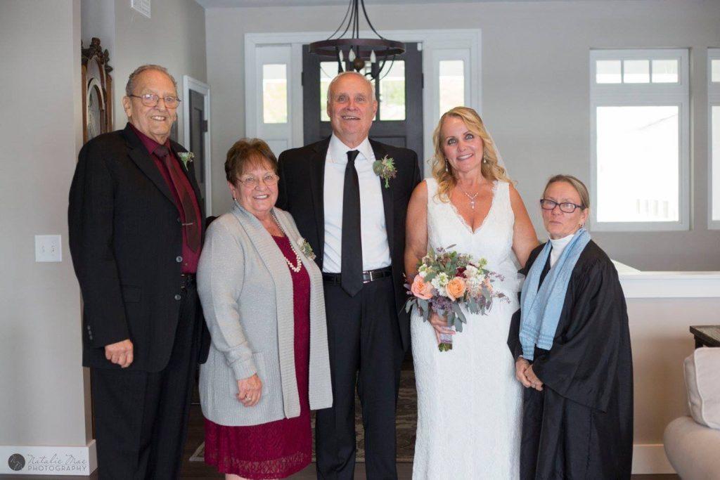 Michigan elopement ceremony