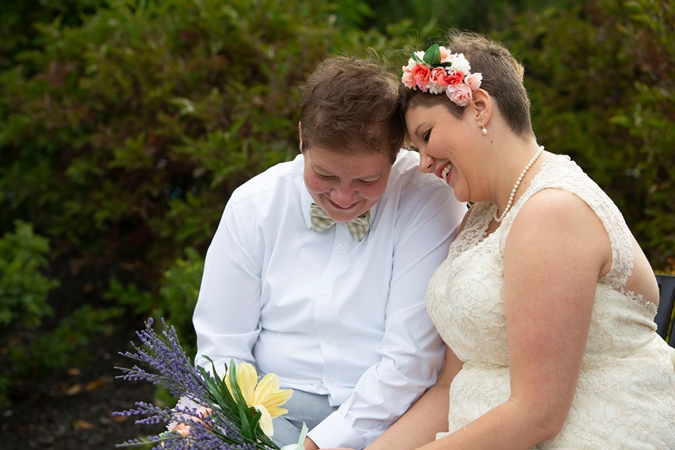 Michigan lesbian wedding photographer