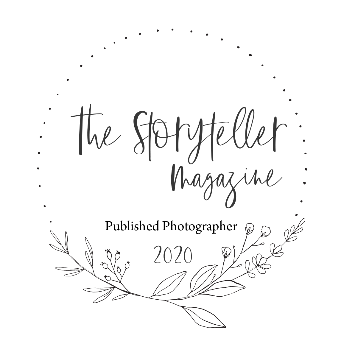 Natalie Mae Photography published on The Storyteller Magazine