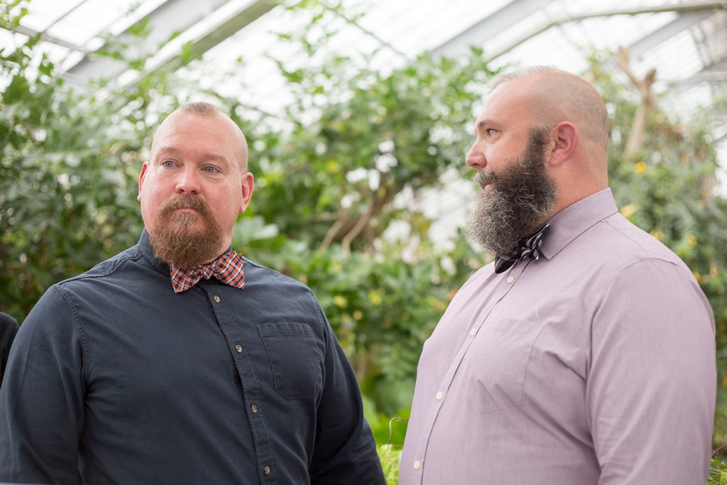 Matthaei Botanical Gardens micro wedding