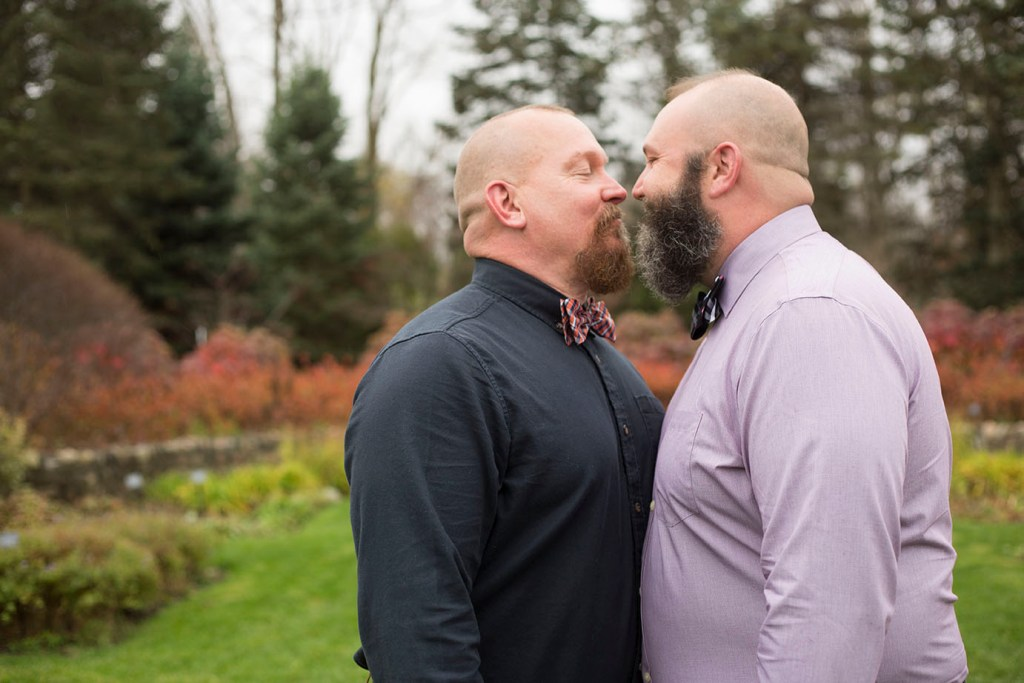 Michigan gay wedding couple