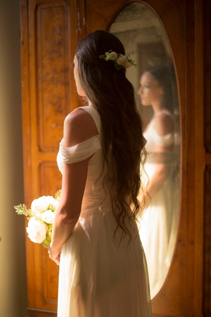 Bride reflects on her wedding day