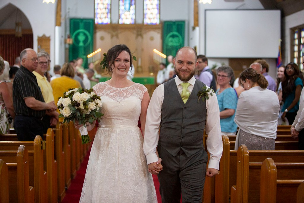 Northville wedding couple now married